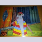 Original Walt Disney Production Cel from The Sword in the Stone featuring Merlin