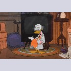 Original Walt Disney Production Cel featuring Ludwig Von Drake