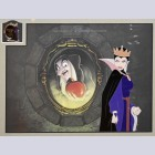 "Original Walt Disney Sericel ""Reflection of Evil"" from Snow White and the Seven Dwarfs"
